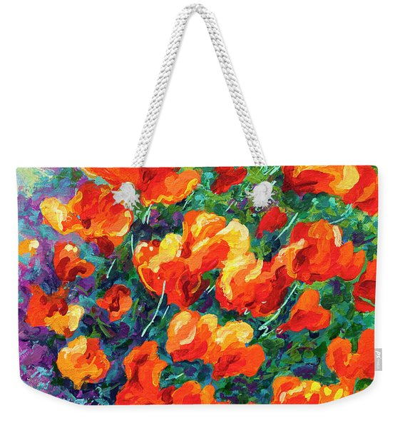 California Poppies Weekender Tote Bag