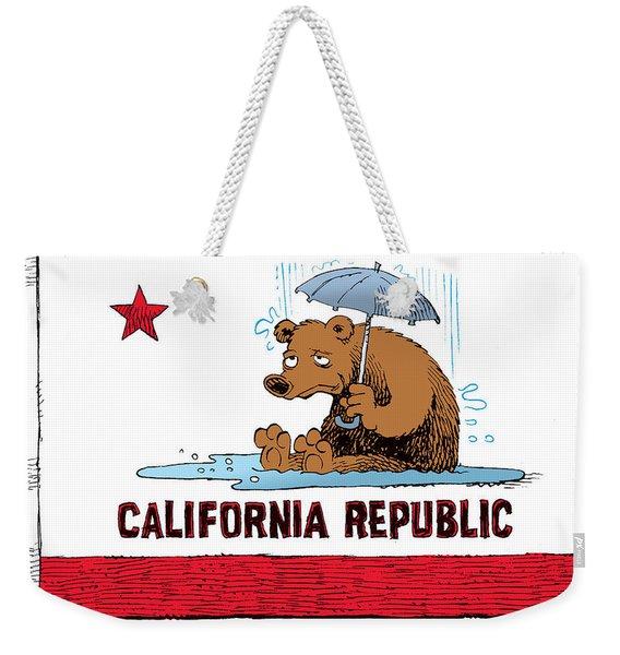 California Rain Weekender Tote Bag