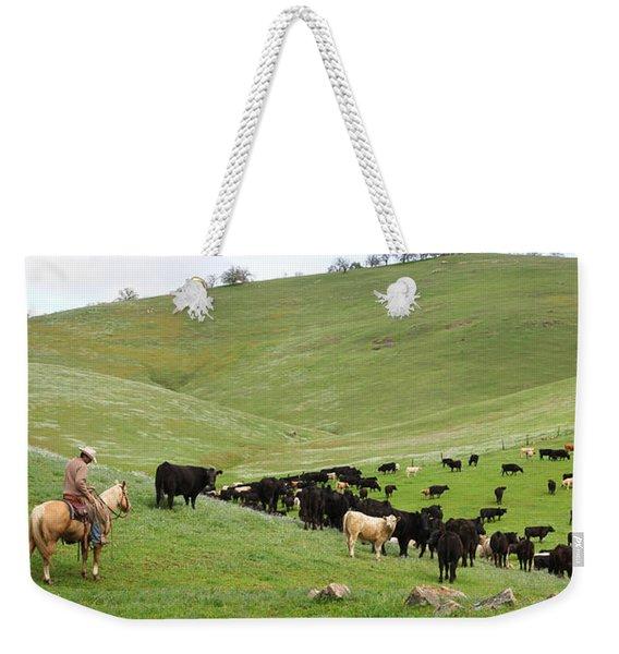 California Ranching Weekender Tote Bag
