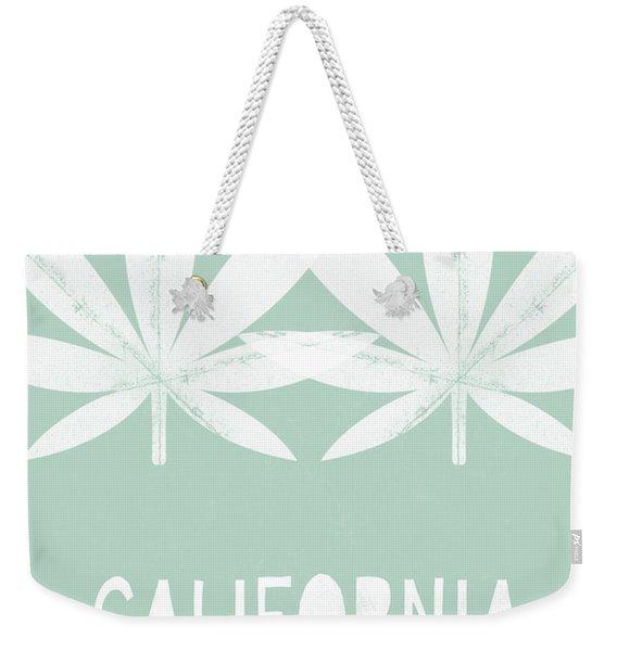 California State Of Mind- Art By Linda Woods Weekender Tote Bag