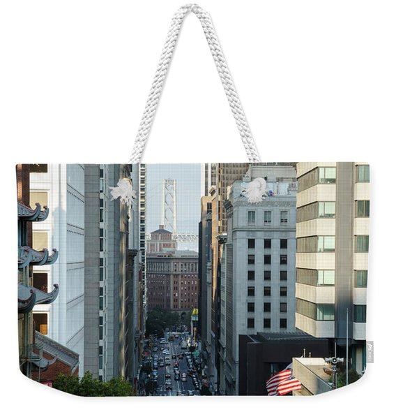 California Street San Francisco Weekender Tote Bag
