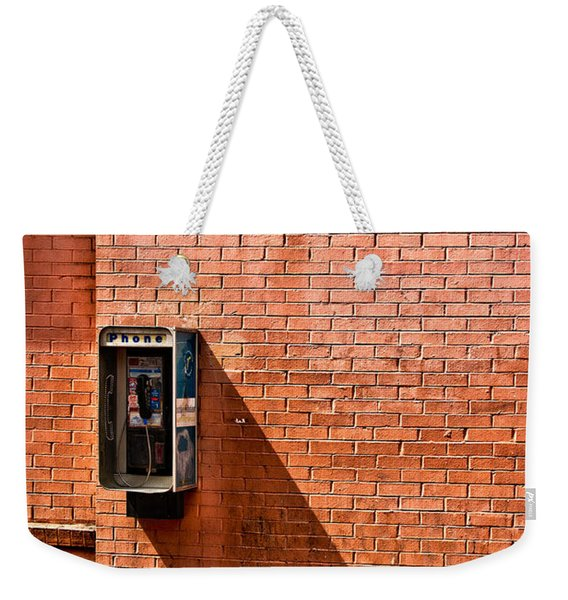 Call Me Weekender Tote Bag