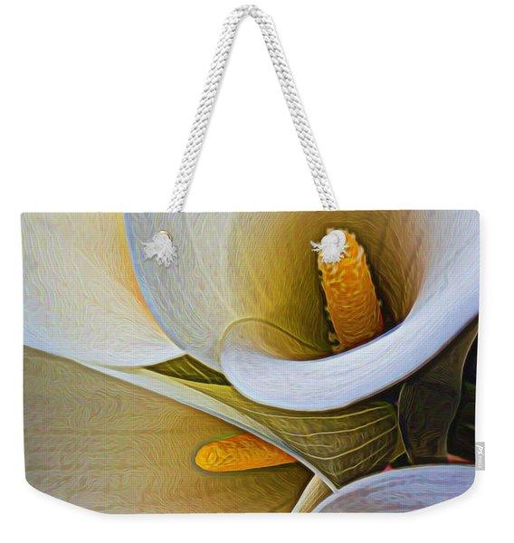 Calla Abstract 2 Weekender Tote Bag