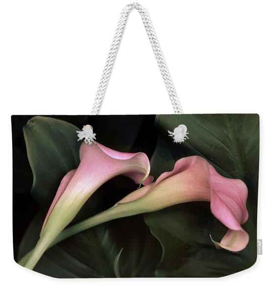 Calla Caress  Weekender Tote Bag