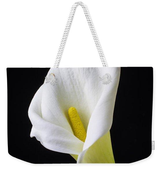 Calla Still Life Weekender Tote Bag