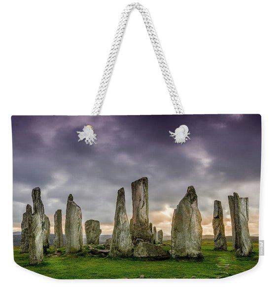 Callanish Stone Circle, Scotland Weekender Tote Bag