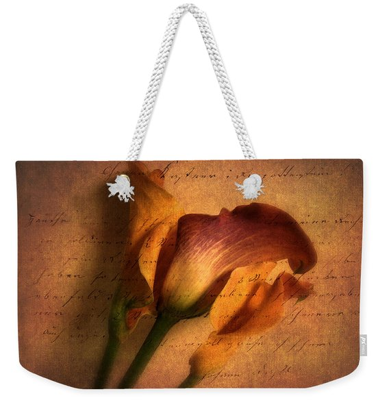 Callas By Candlelight Weekender Tote Bag