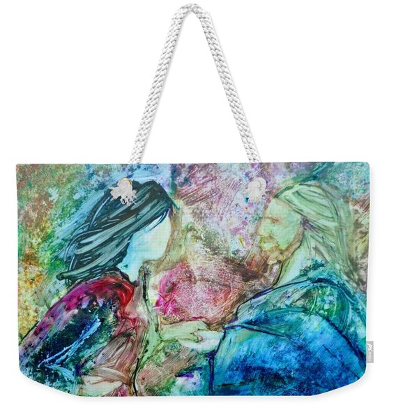 Called Out Of The Boat Weekender Tote Bag