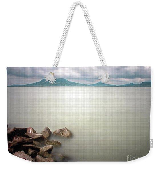 Calm At The Lake Weekender Tote Bag