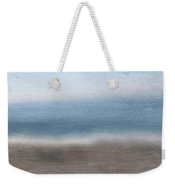 Calm Coast 2-  Art By Linda Woods Weekender Tote Bag