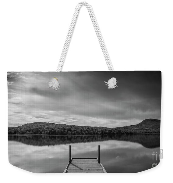 Calm Evening At Porter Lake Weekender Tote Bag