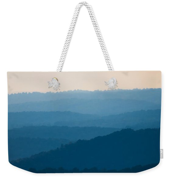 Calm Over The Hoyle Weekender Tote Bag