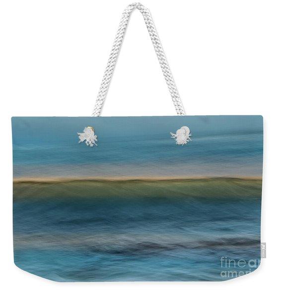 Calming Blue Weekender Tote Bag