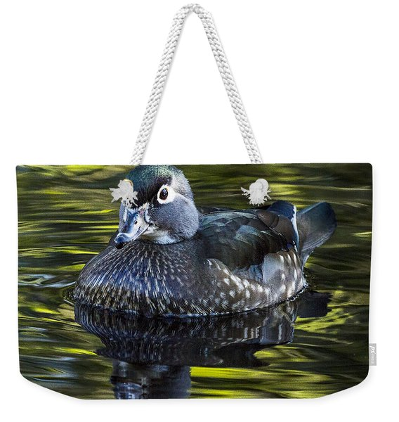 Calmness On The Water Weekender Tote Bag