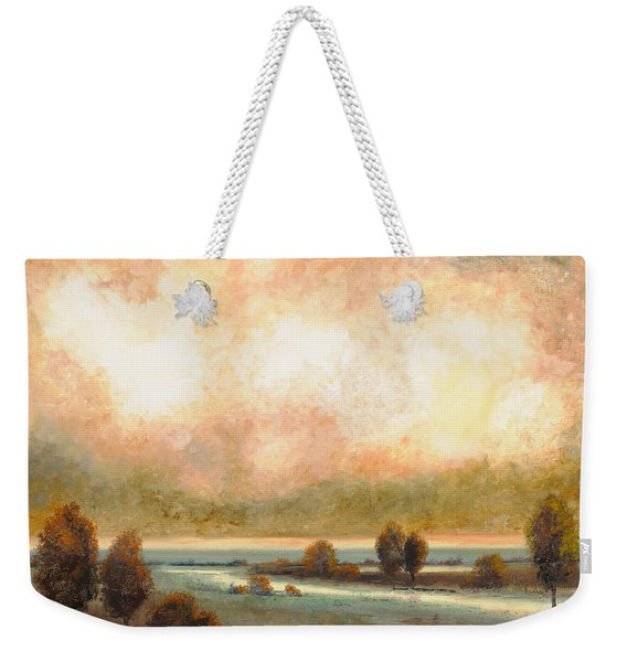 Calor Bianco Weekender Tote Bag