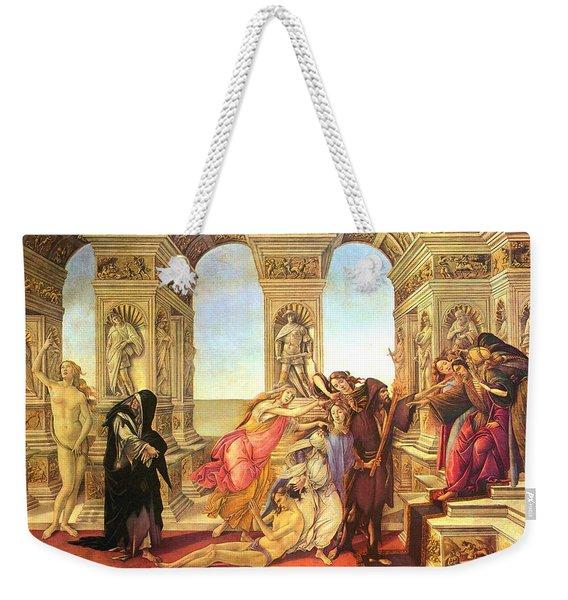 Calumny Of Apelles  Weekender Tote Bag