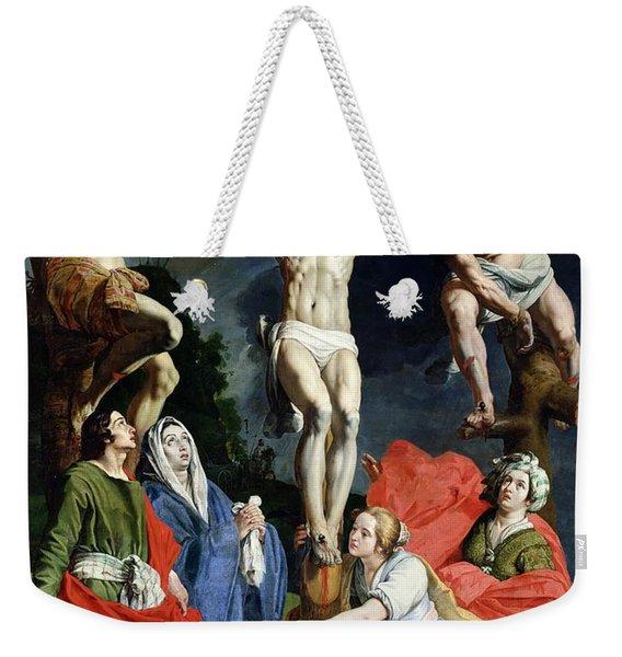 Calvary Weekender Tote Bag