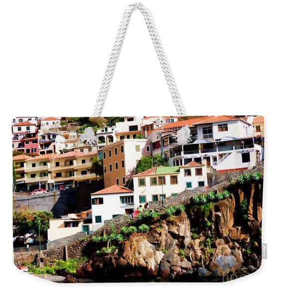 Camara De Lobos On The Island Of Madeira Weekender Tote Bag
