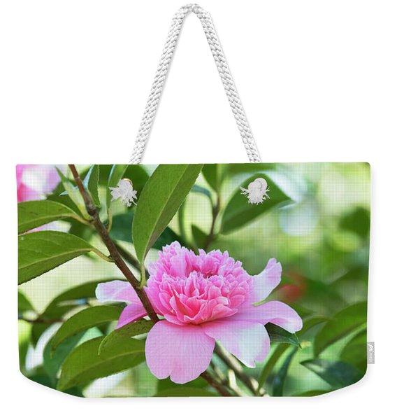 Camellia Ballet Queen Weekender Tote Bag