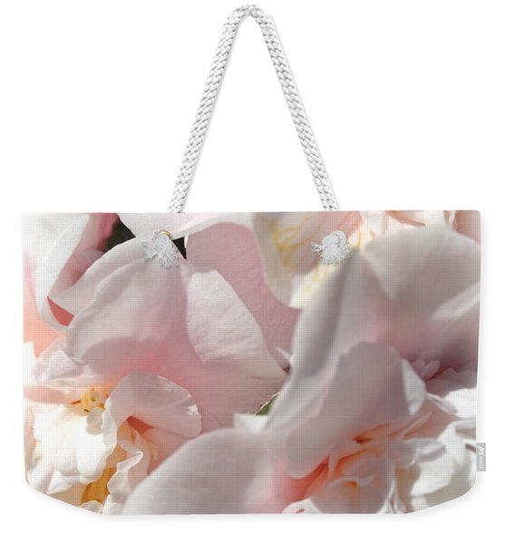 Camellias Softly Weekender Tote Bag