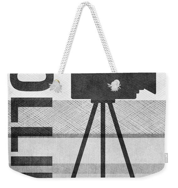 Cameras Rolling- Art By Linda Woods Weekender Tote Bag