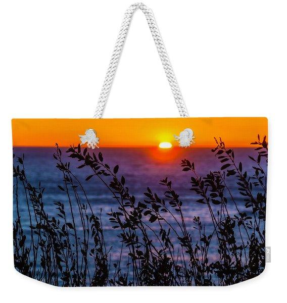 Calmness At Sunset Weekender Tote Bag
