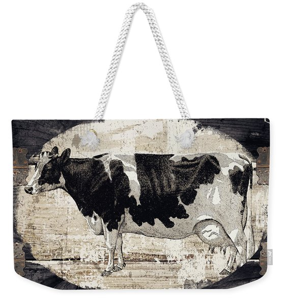 Campagne I French Cow Farm Weekender Tote Bag
