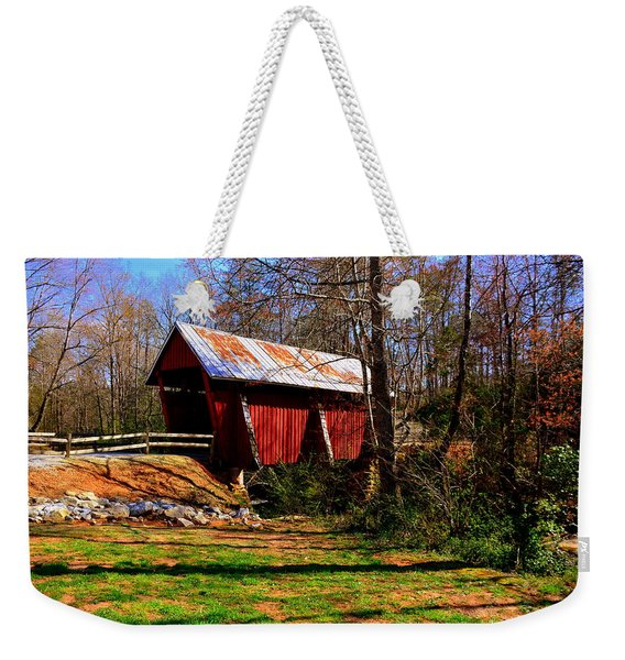 Campbell's Covered Bridge Est. 1909 Weekender Tote Bag