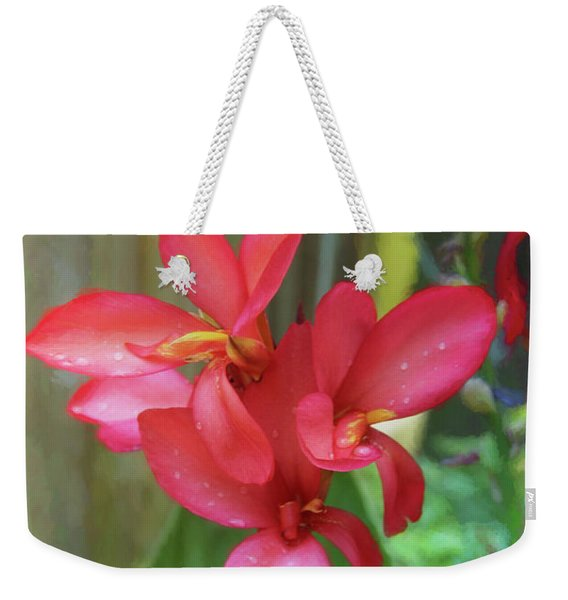 Canna Lily Delight  Weekender Tote Bag