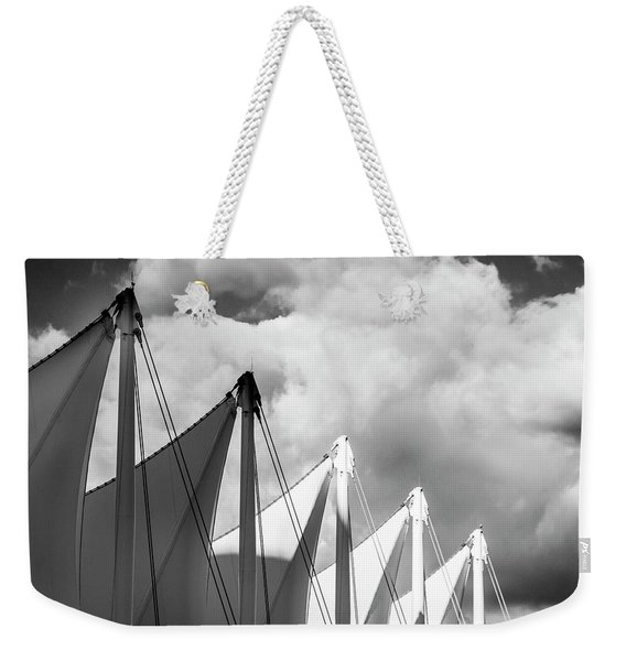 Canada Place Sails Weekender Tote Bag