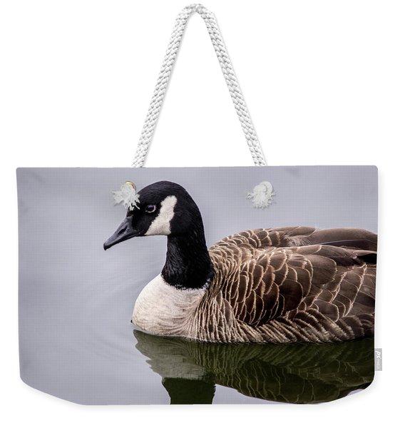 Canadian Goose At Rio Weekender Tote Bag