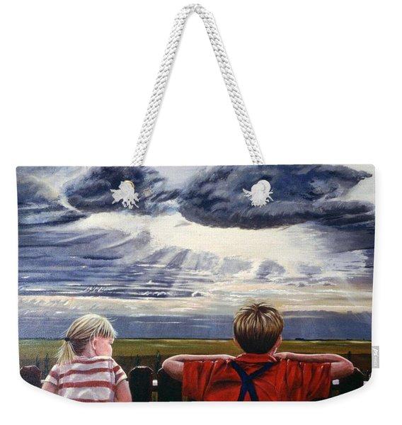 Canadian Prairies Weekender Tote Bag