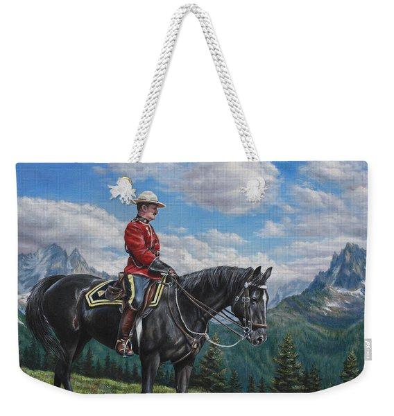 Canadian Majesty Weekender Tote Bag