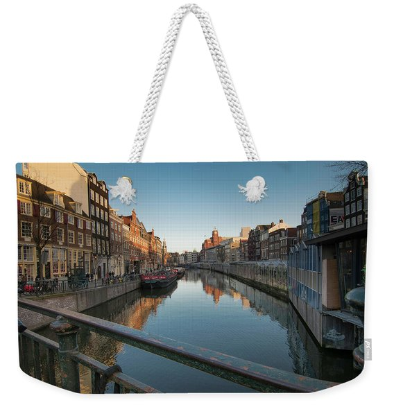 Canal From The Bridge Weekender Tote Bag