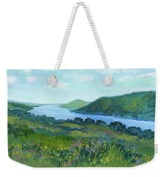 Canandaigua Lake II Weekender Tote Bag