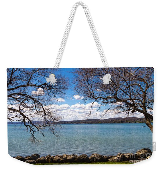 Weekender Tote Bag featuring the photograph Canandaigua by William Norton