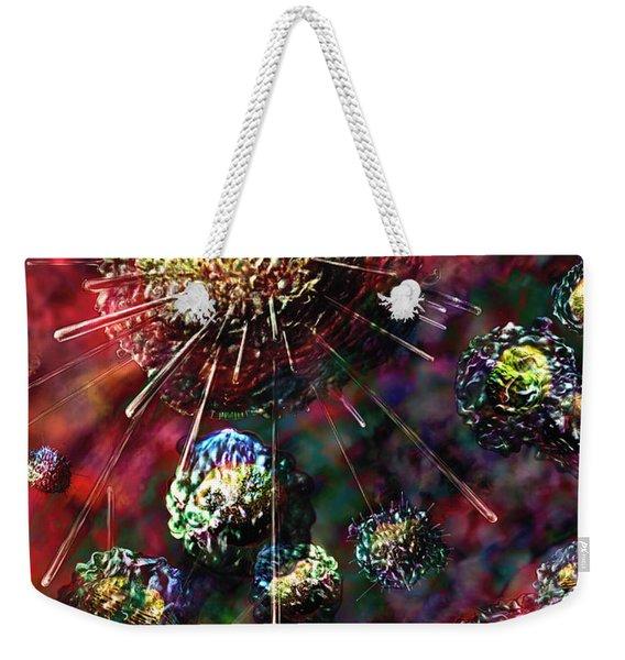 Cancer Cells Weekender Tote Bag