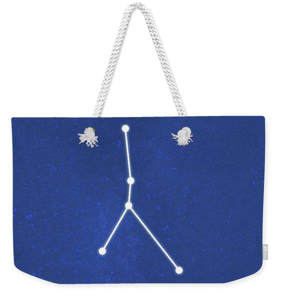 Cancer The Constellations Minimalist Series 03 Weekender Tote Bag