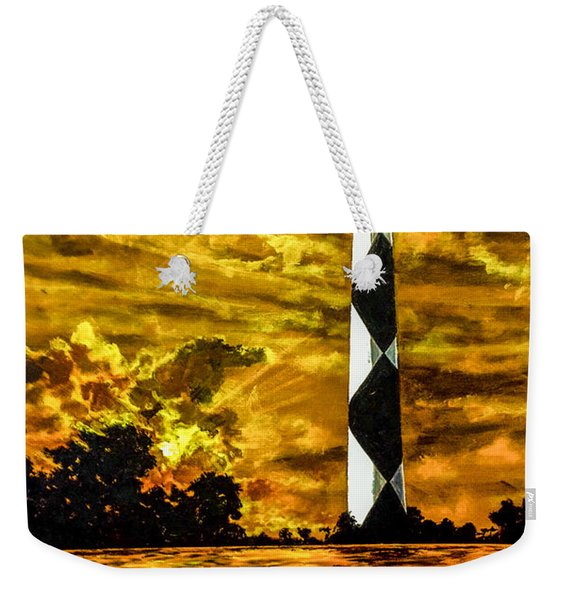 Candle On The Water Weekender Tote Bag