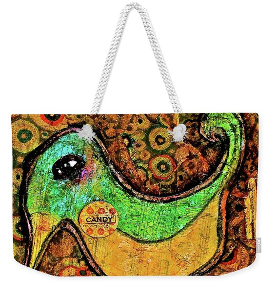 Candy Bird Weekender Tote Bag