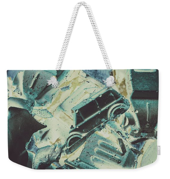 Candy Car Crush Weekender Tote Bag