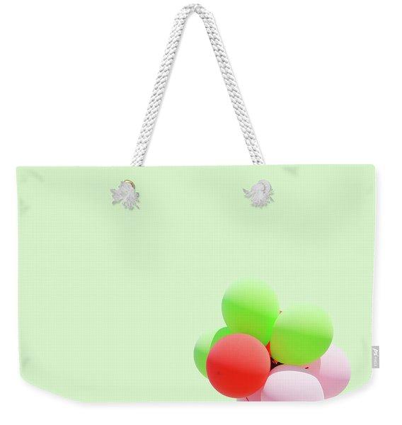 Candy Dog Weekender Tote Bag