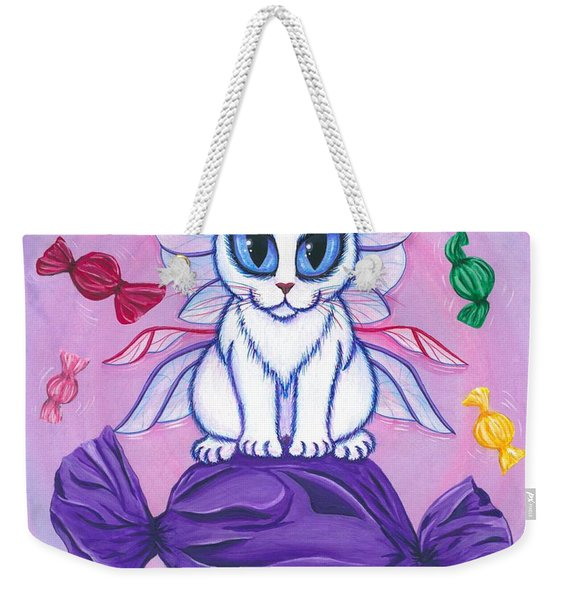 Candy Fairy Cat, Hard Candy Weekender Tote Bag