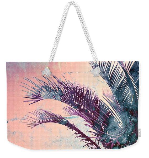 Candy Palms Weekender Tote Bag