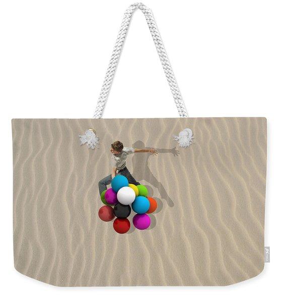 Candy Sand Weekender Tote Bag