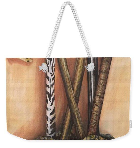 Canes Weekender Tote Bag