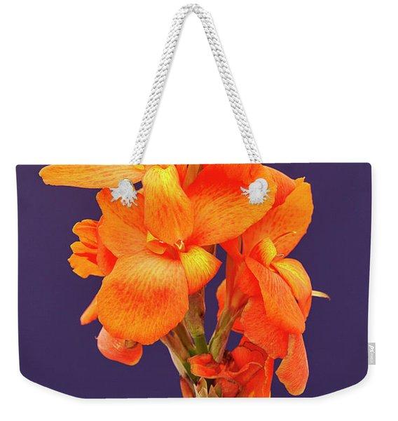 Canna Weekender Tote Bag