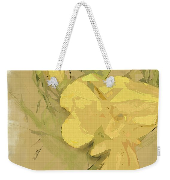 Weekender Tote Bag featuring the photograph Canna by Gina Harrison