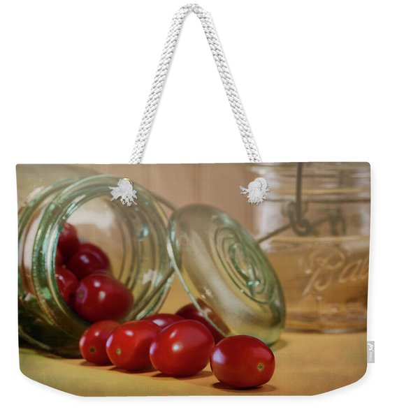 Canned Tomatoes - Kitchen Art Weekender Tote Bag