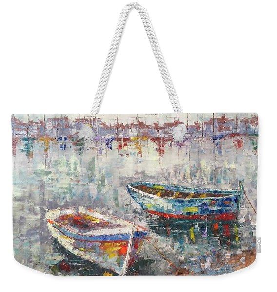 Cannes La Riviera Weekender Tote Bag